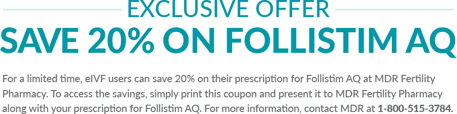 Exclusive 20% off offer for FOLLISTIM AQ